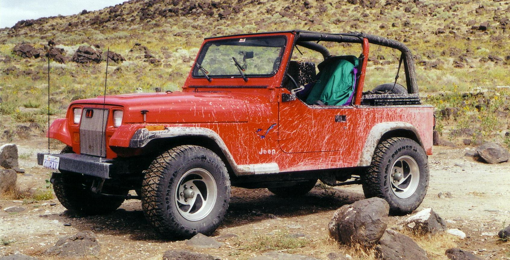 Little Red, 95 Jeep YJ